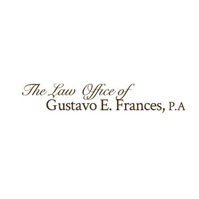 The Law Office Of Gustavo E. Frances, P.A. Profile Picture