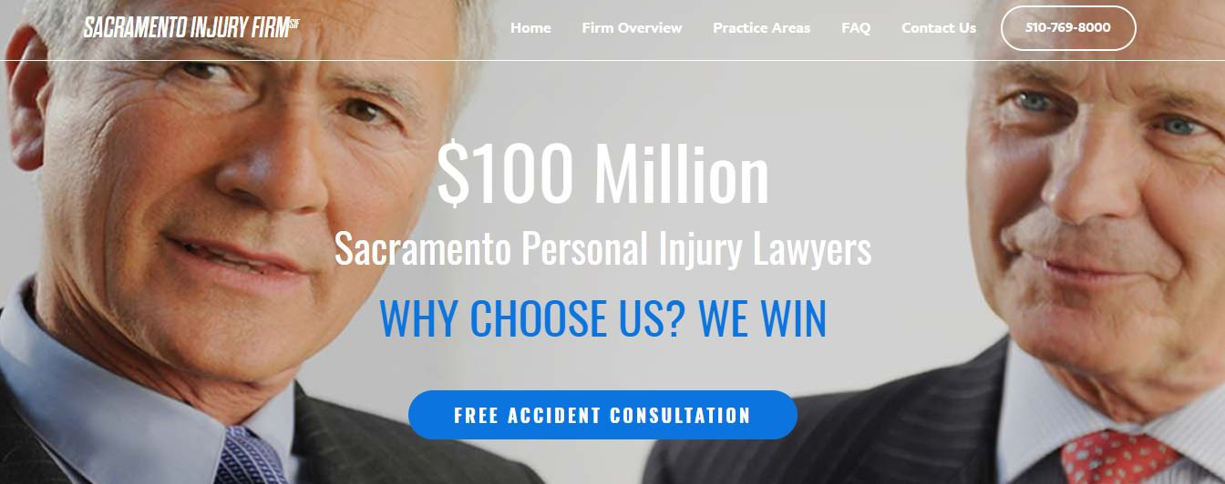 Sacramento Injury Firm - Law Office Profile Picture
