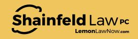 Shainfeld Law PC - California Lemon Law Attorney Profile Picture