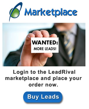 buy leads at LeadRival Marketplace