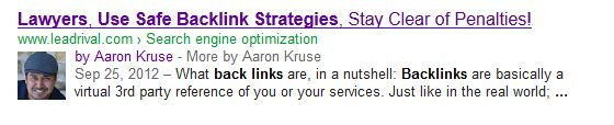 aaron kruse google authorship