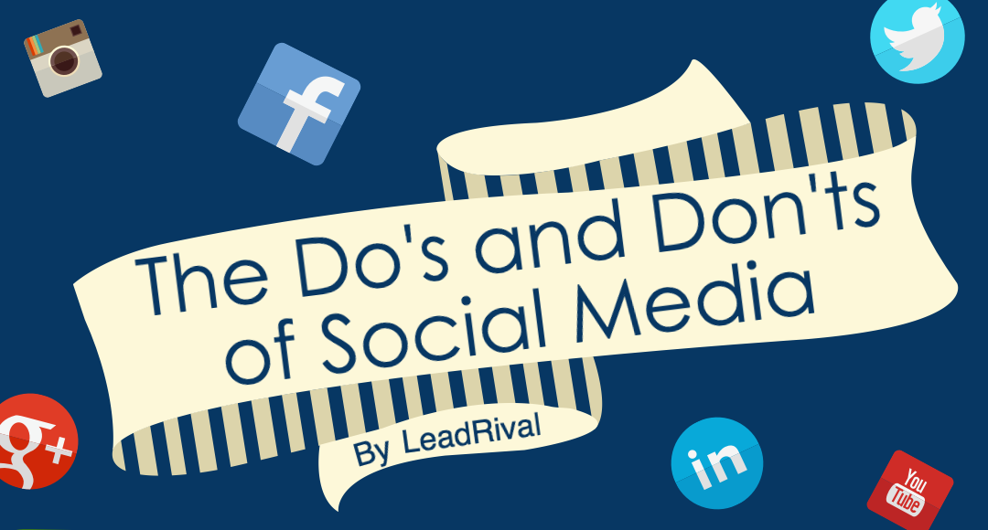 The 12 Do's and Don'ts of Social Media [Infographic]