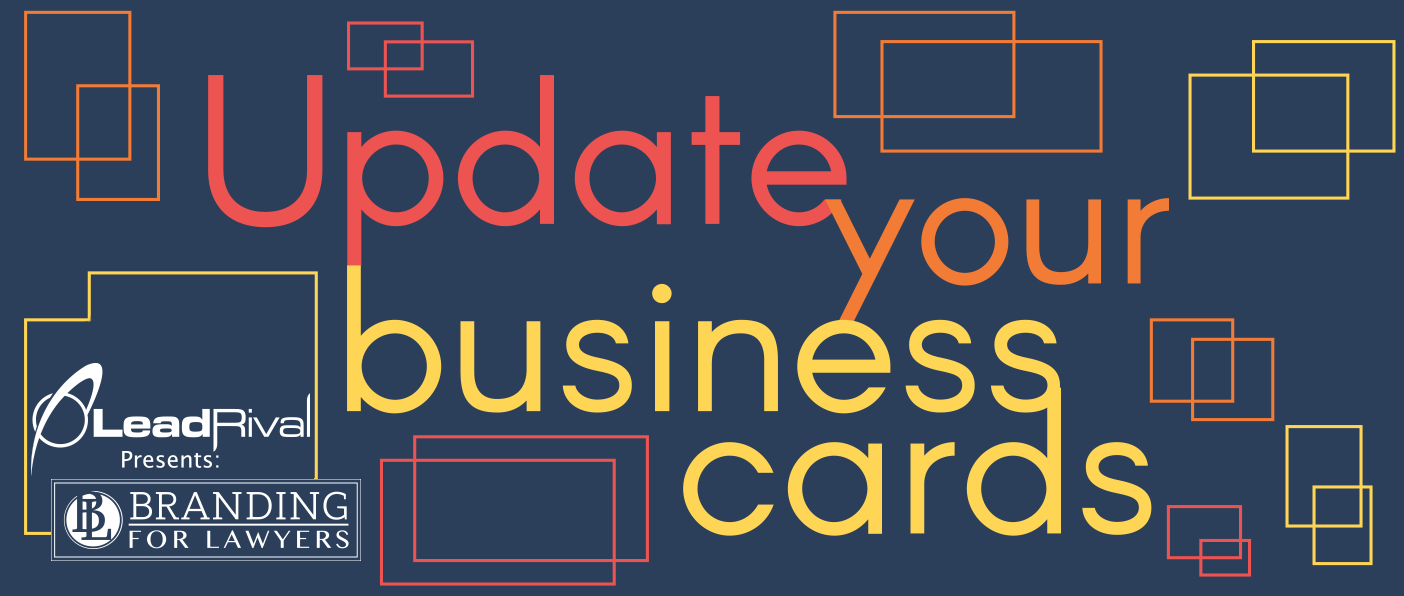 Branding for lawyers update your business cards colourmoves