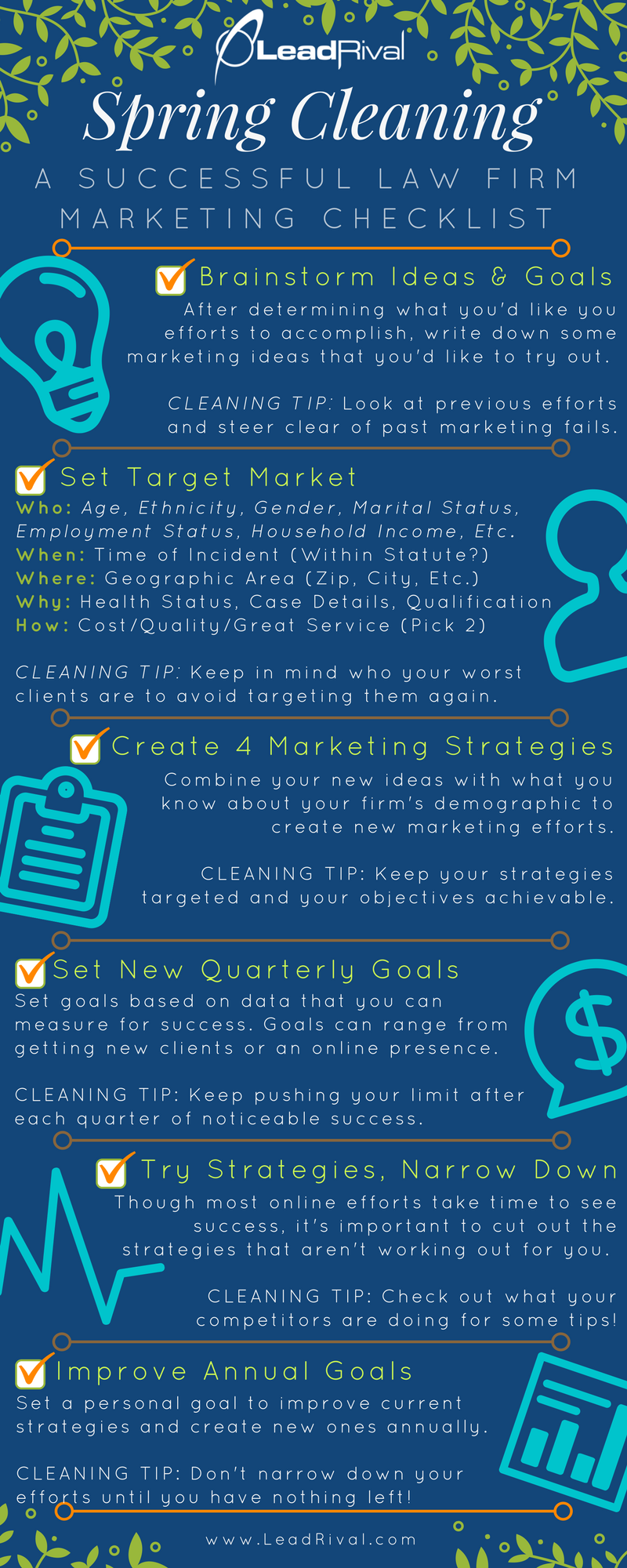 A Successful Law Firm Marketing Checklist